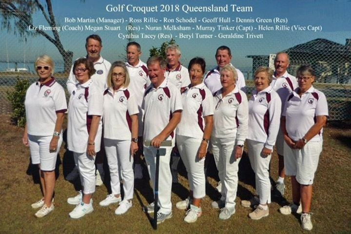 Qld Golf Croquet 2018 State Team