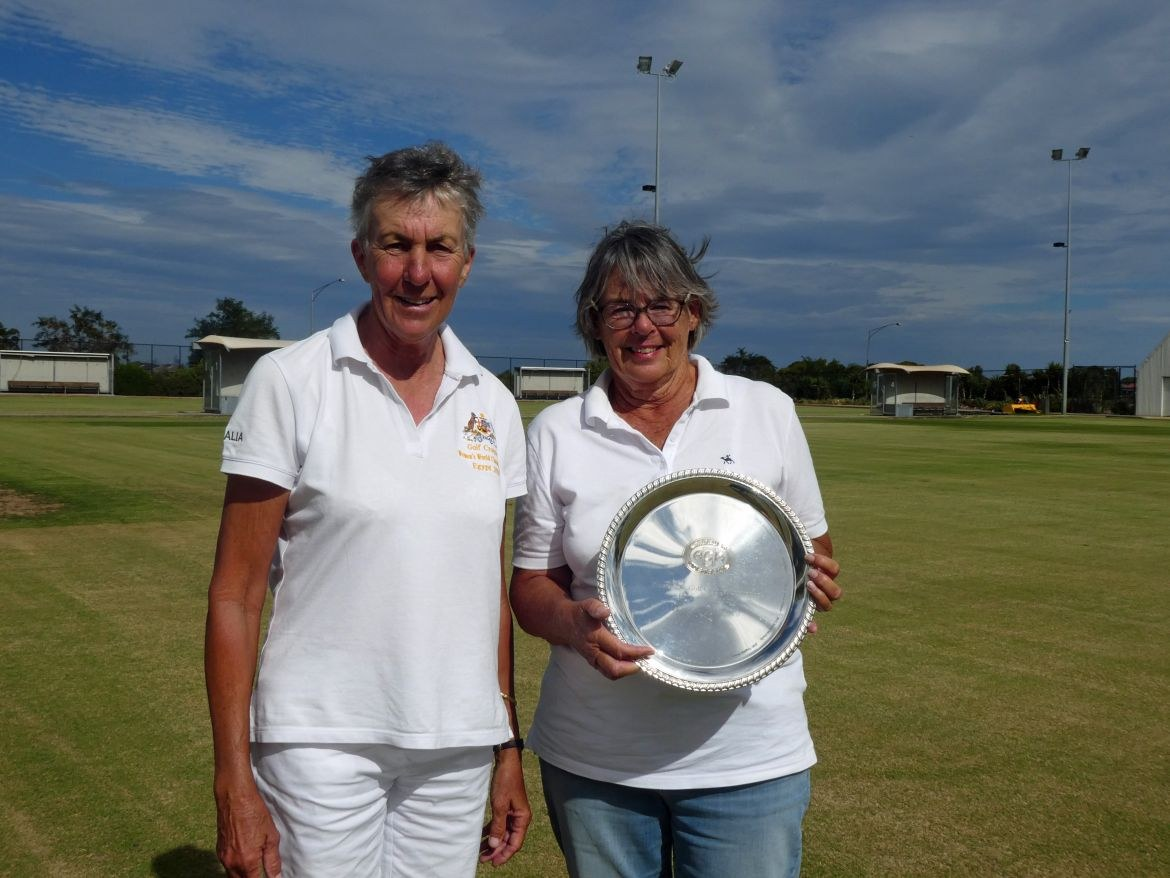 Rosemary Newsham and Geraldine Trivett – winner and runner-up